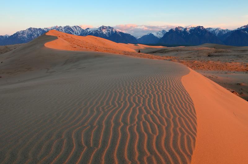 657 Чарские пески: холодная Сахара Забайкалья