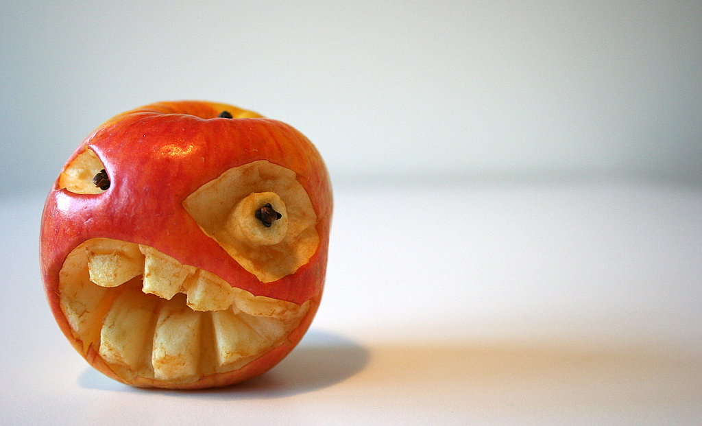 662 Смешные фрукты