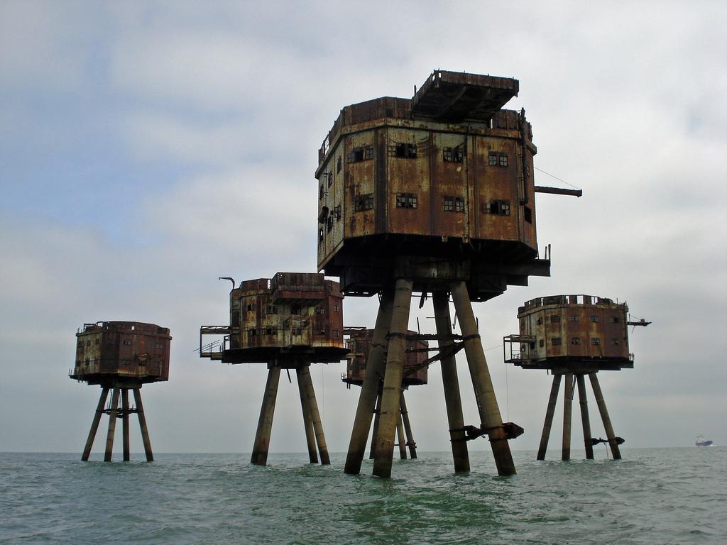 7107 Британские морские форты