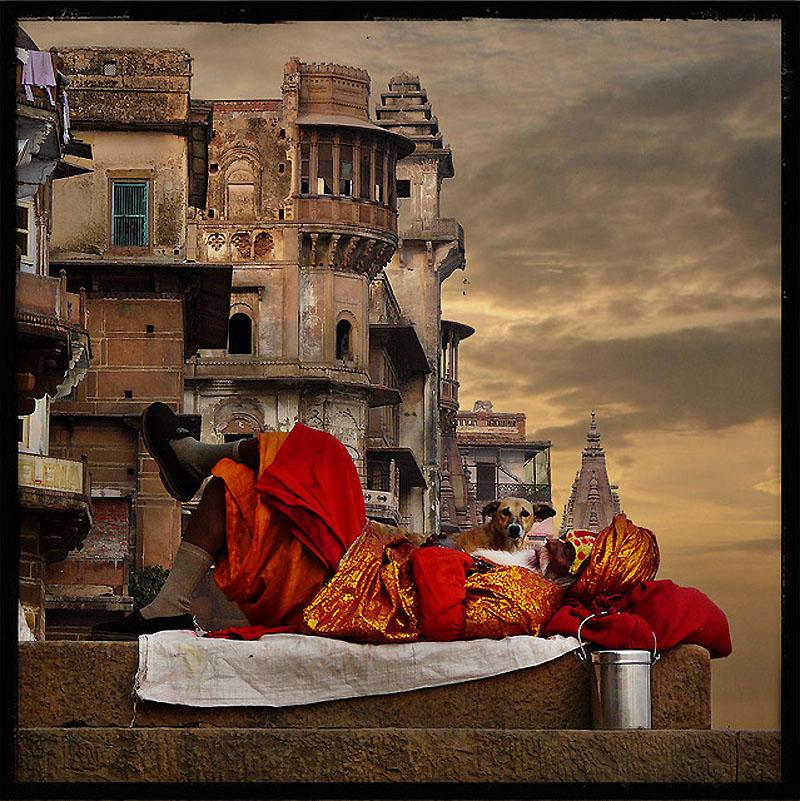 7129 41 потрясающе атмосферное фото Индии