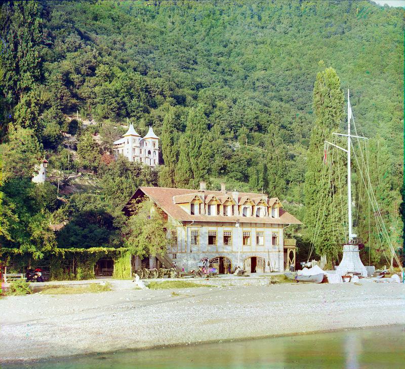 7145 Абхазия на цветных снимках Прокудина Горского 1904 и 1912 гг.