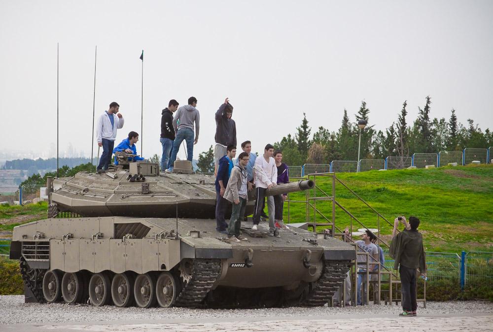 7158 Музей танковых войск в Израиле