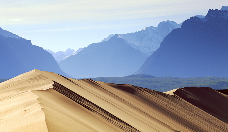 755 Чарские пески: холодная Сахара Забайкалья