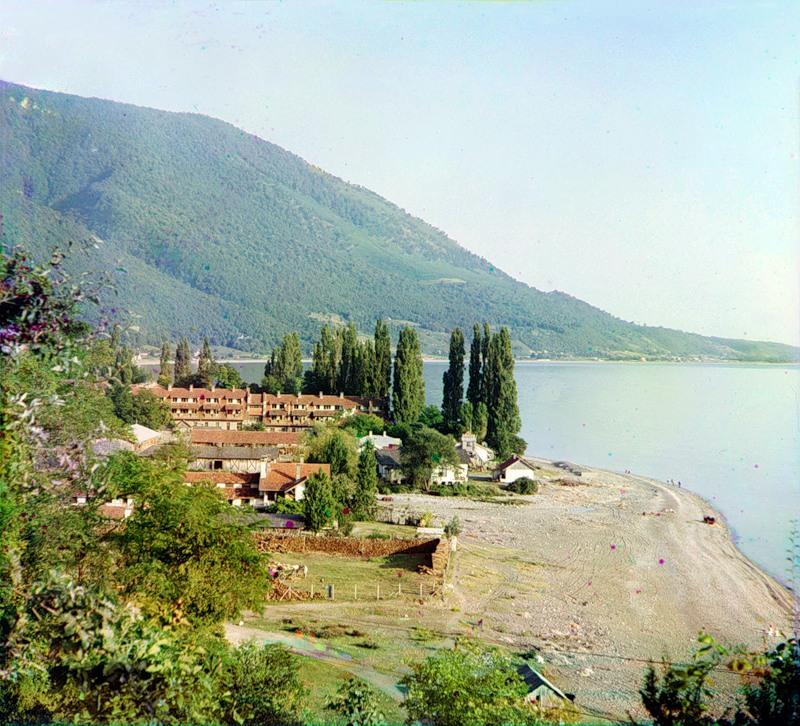 8140 Абхазия на цветных снимках Прокудина Горского 1904 и 1912 гг.