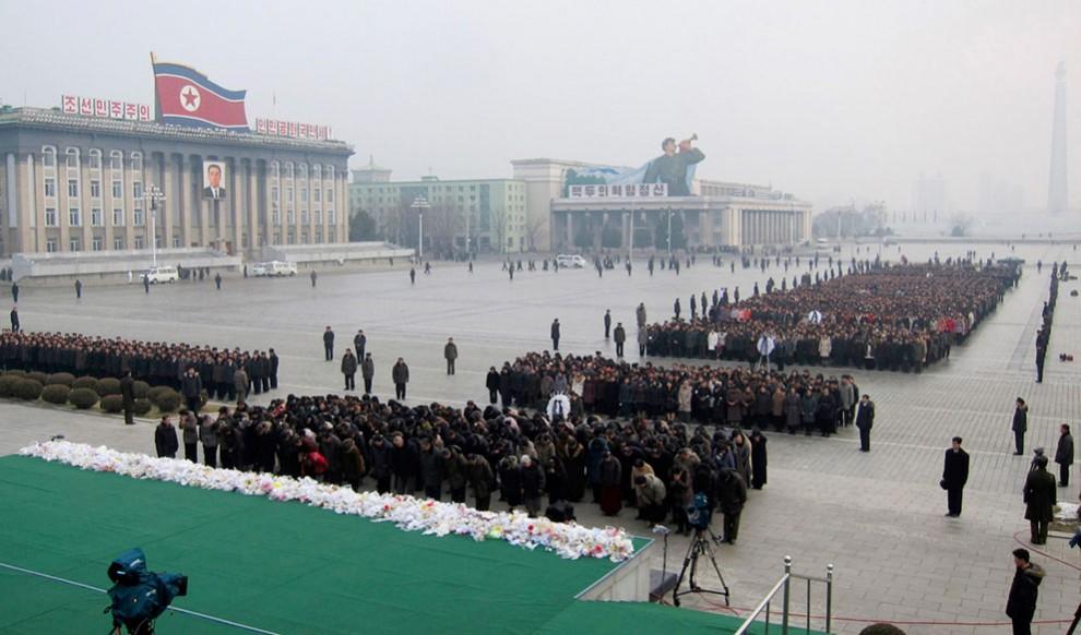 8146 990x582 Северная Корея простилась с Ким Чен Иром