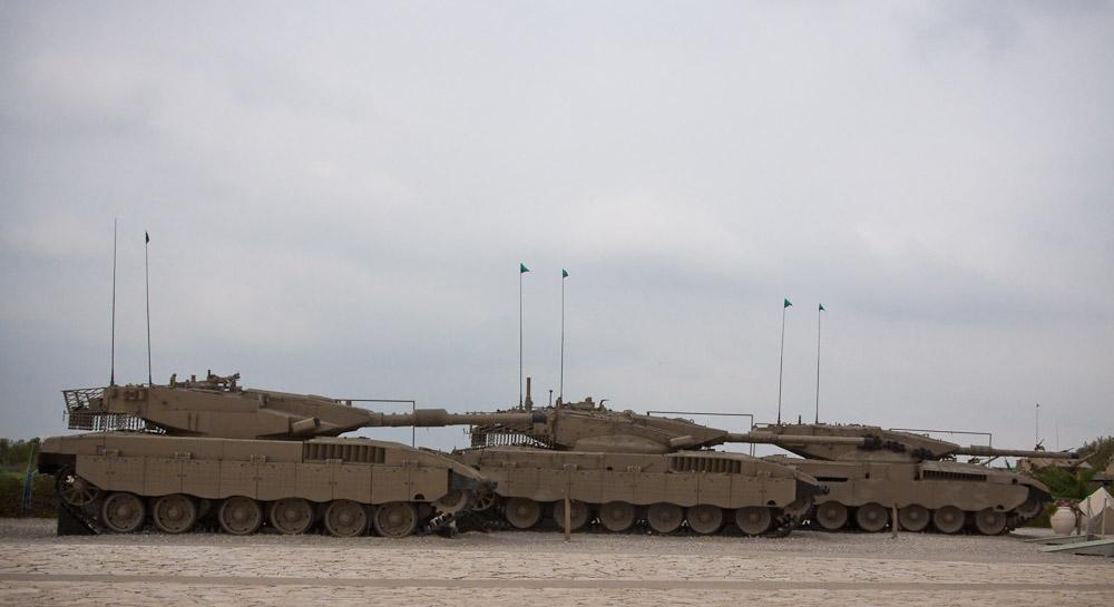 8153 Музей танковых войск в Израиле