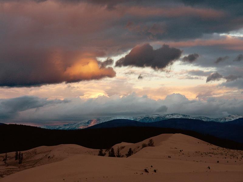 853 Чарские пески: холодная Сахара Забайкалья