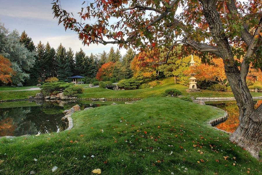 9113 Японский Сад Никка Юко в Канаде