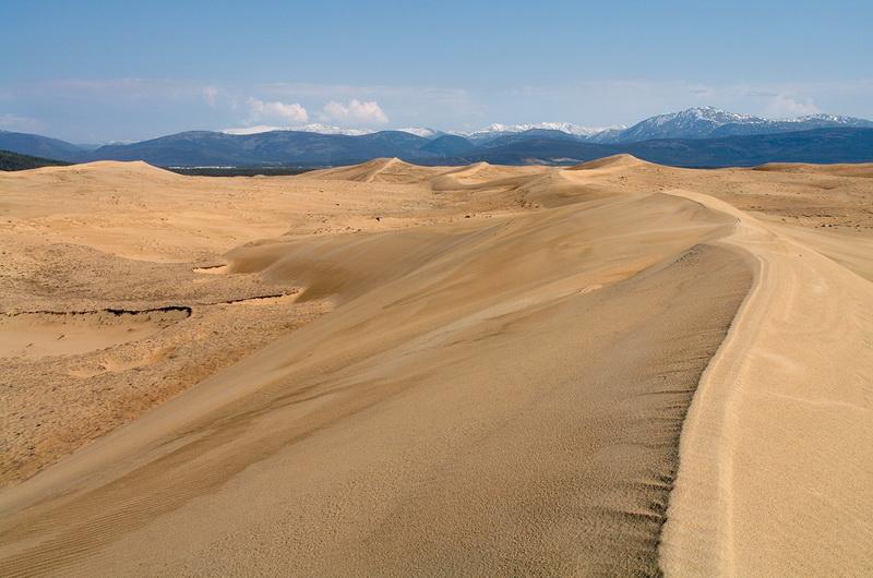 951 Чарские пески: холодная Сахара Забайкалья
