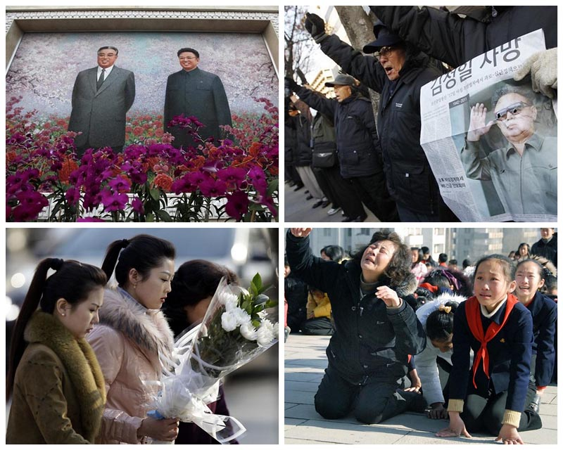 BIGPIC34 Умер лидер Северной Кореи Ким Чен Ир