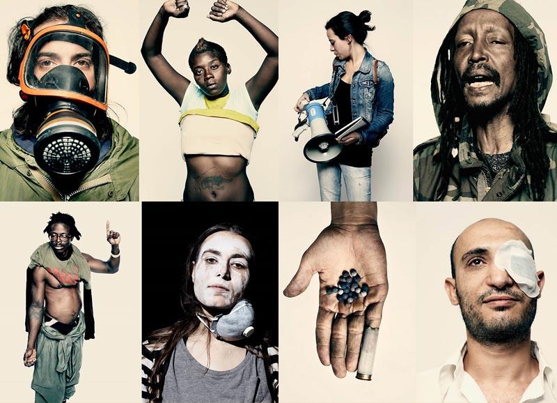 BIGPIC46 Демонстранты со всего мира от фотографа Time Питера Хайпака