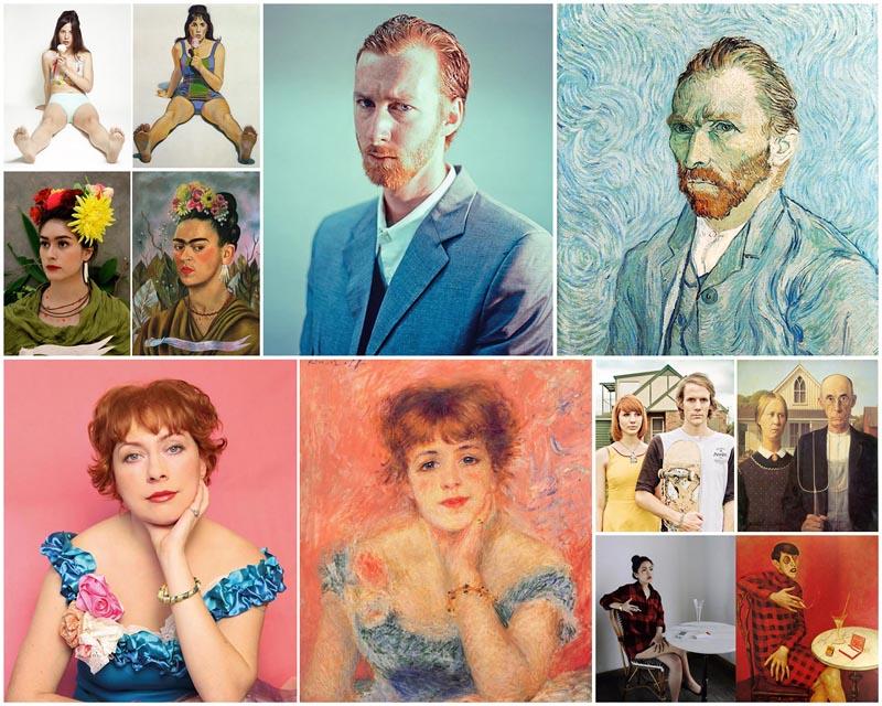 Ремейки знаменитых произведений искусства