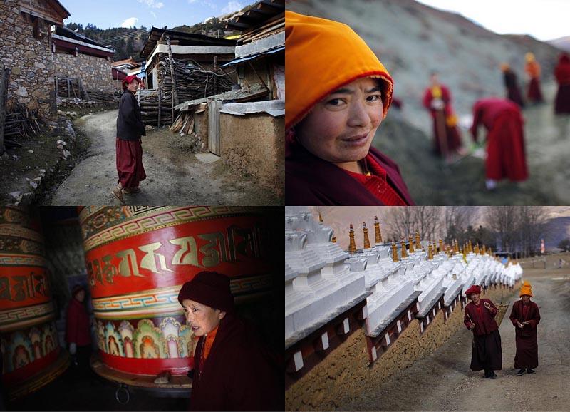 BIGPIC6 Тибетские монахини