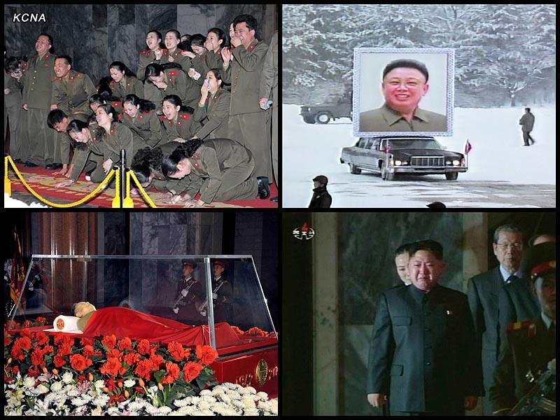 BIGPIC66 В Пхеньяне проходит церемония похорон Ким Чен Ира