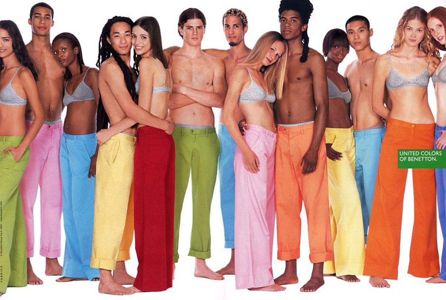 benetton 1024x689 Социальная реклама United Colors of Benetton, шокирующая мир