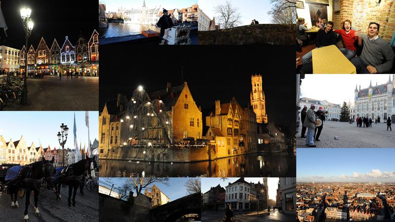 brugge Бельгия перед Рождеством: Брюгге