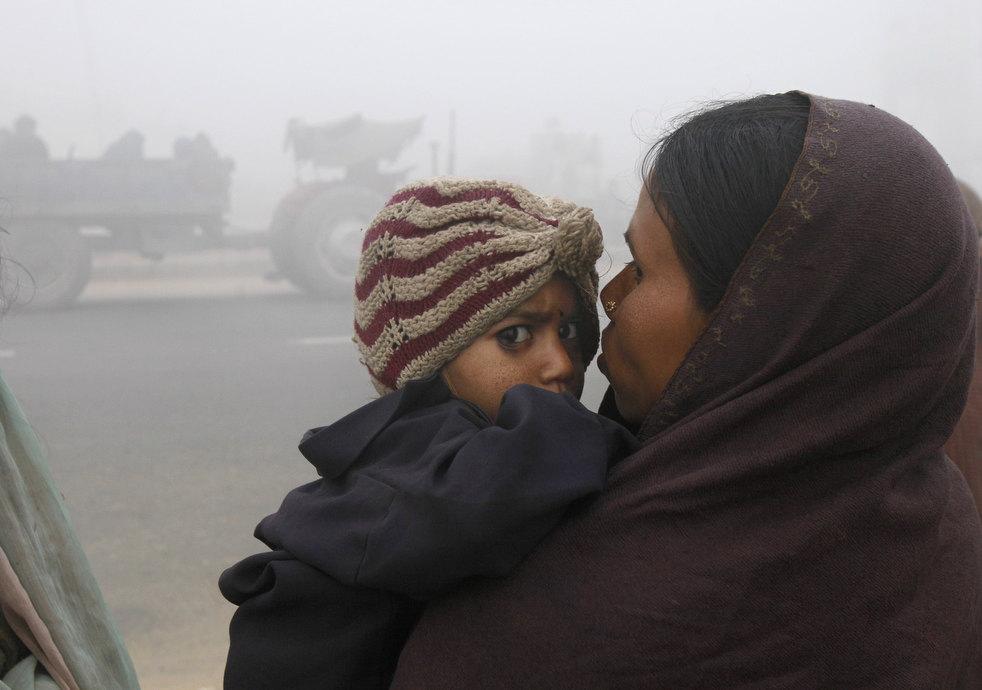 india cold weather 24 Индия замерзает