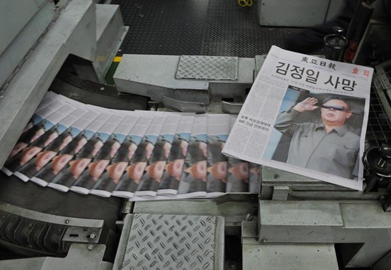 kimdead02 Умер лидер Северной Кореи Ким Чен Ир