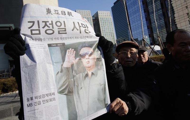 kimdead19 Умер лидер Северной Кореи Ким Чен Ир