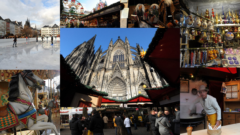 koln Германия перед Рождеством: Кёльн