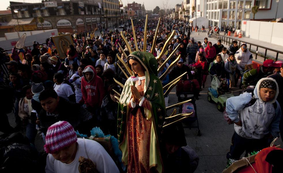 Праздник Девы Марии Гваделупской