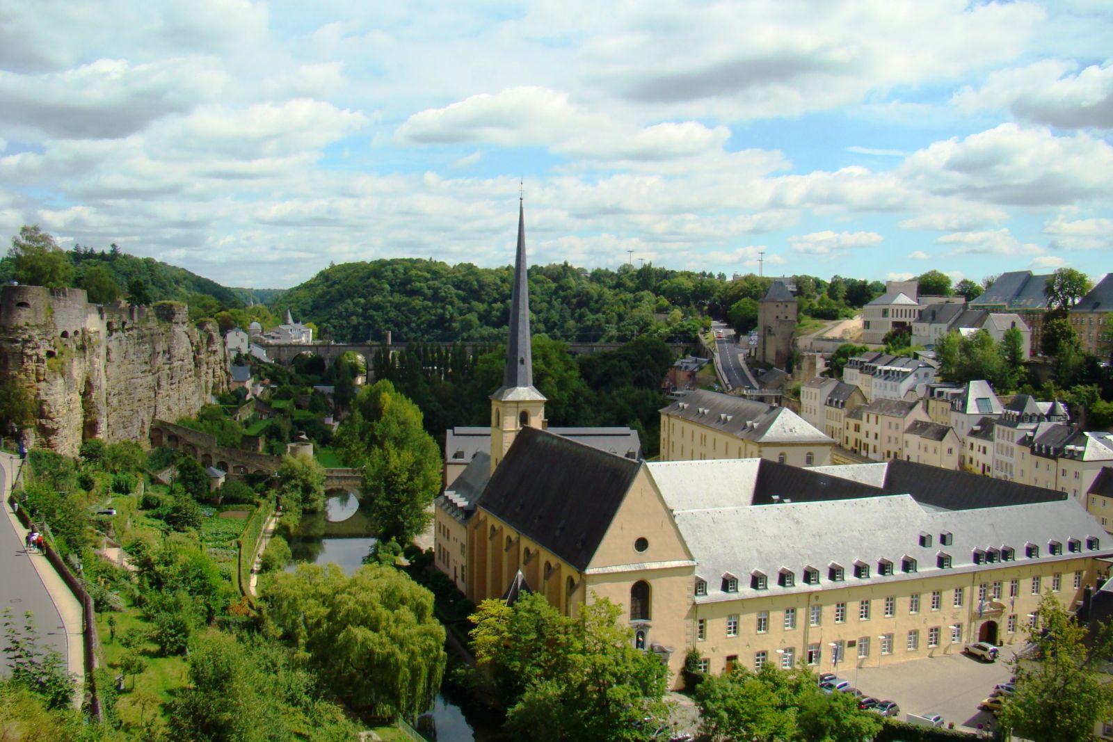 Фото города люксембурга для проекта