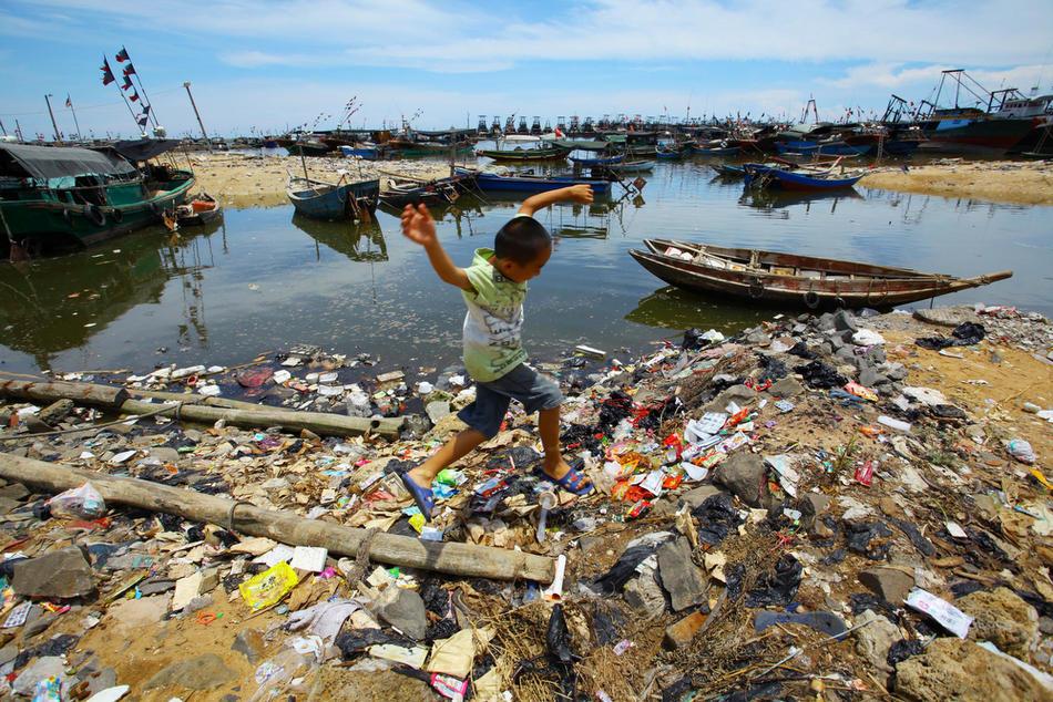 pollution016 Загрязнение окружающей среды в Китае