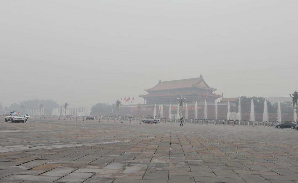 pollution017 Загрязнение окружающей среды в Китае