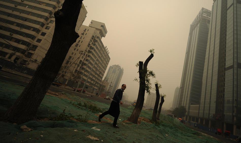 pollution021 Загрязнение окружающей среды в Китае