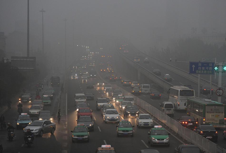 pollution025 Загрязнение окружающей среды в Китае
