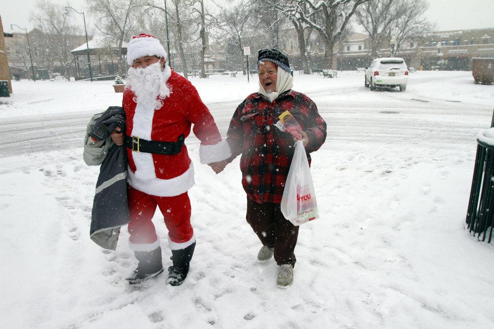 santa claus 2011 34 Санта и кризис