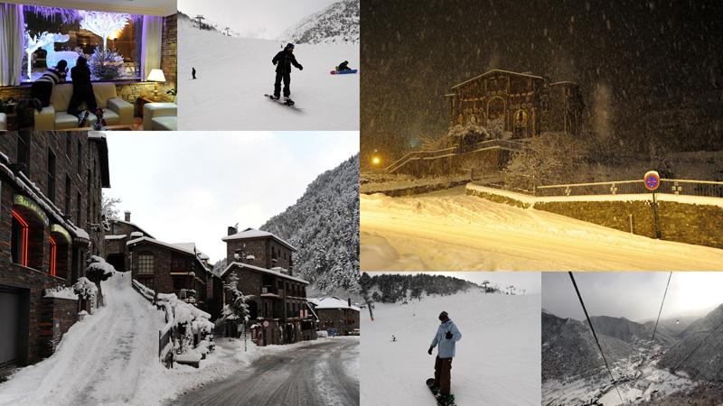 Андорра: долгожданный снег