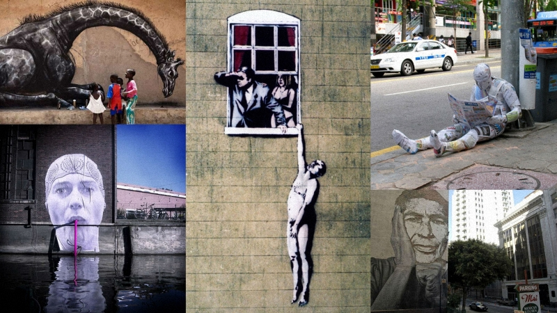 стрит арт 6 великих имен современного Стрит арта
