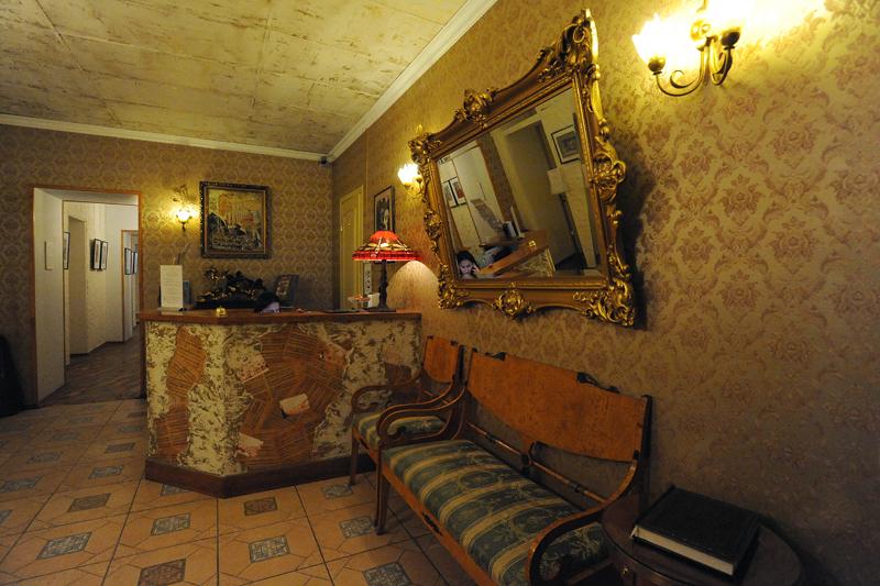 00819 Самые необычные отели Санкт Петербурга