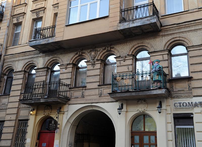 0487 Самые необычные отели Санкт Петербурга