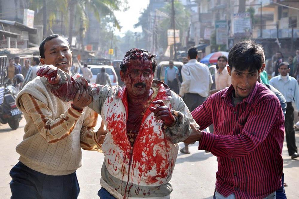 06 Леопард скальпировал горожанина в Индии
