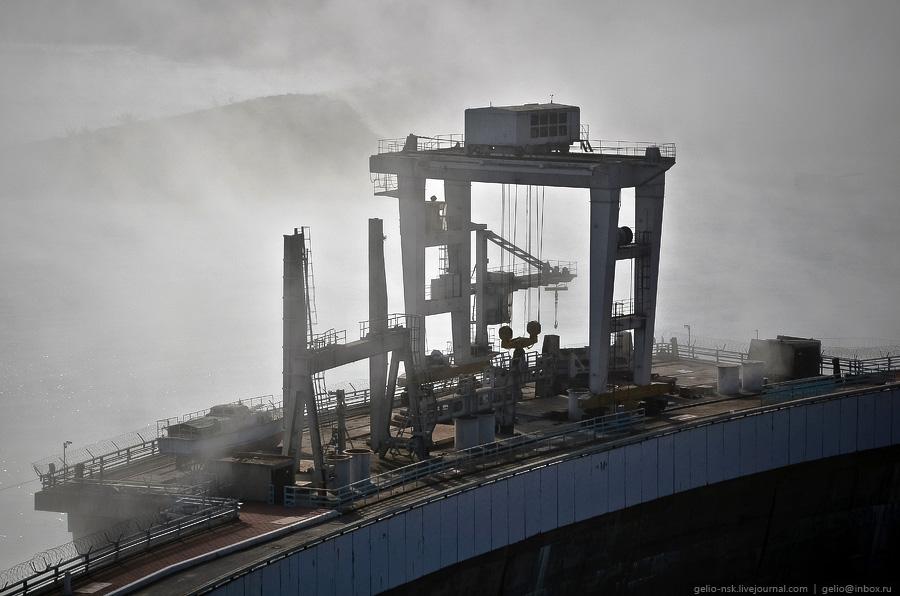 1036 Чиркейская ГЭС   самая высокая арочная плотина в России