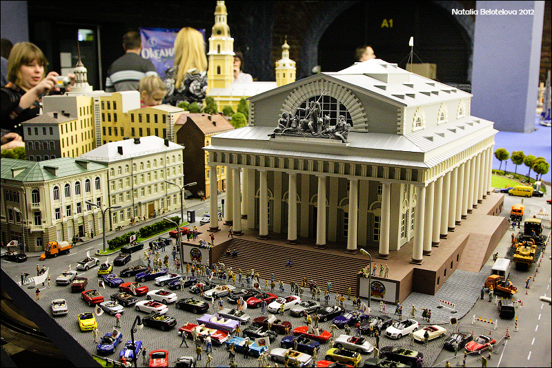 1140 Путешествие в игрушечную Россию: Гранд Макет на январь 2012