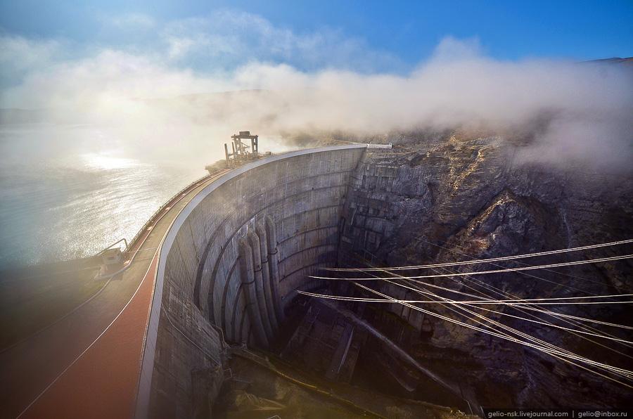 1147 Чиркейская ГЭС   самая высокая арочная плотина в России