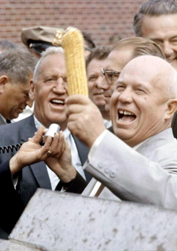 1150 Визит Хрущёва в Америку в 1959 году