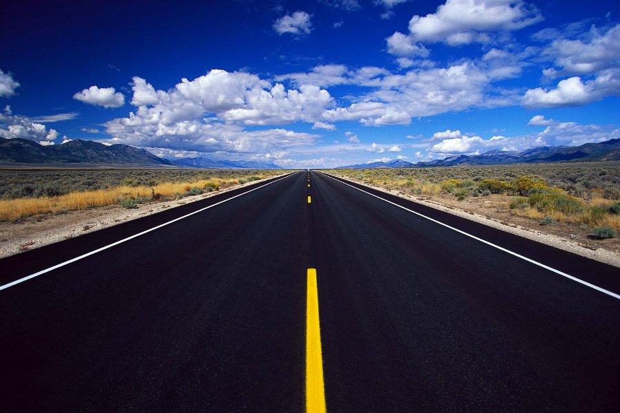 12102 Пейзажи с автомобильных дорог