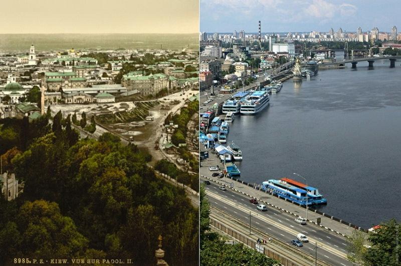 Как изменился Киев за последние 100 лет