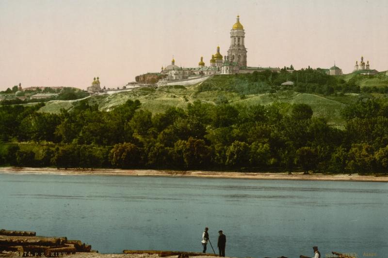 1294 Что изменилось в Киеве за последние 100 лет