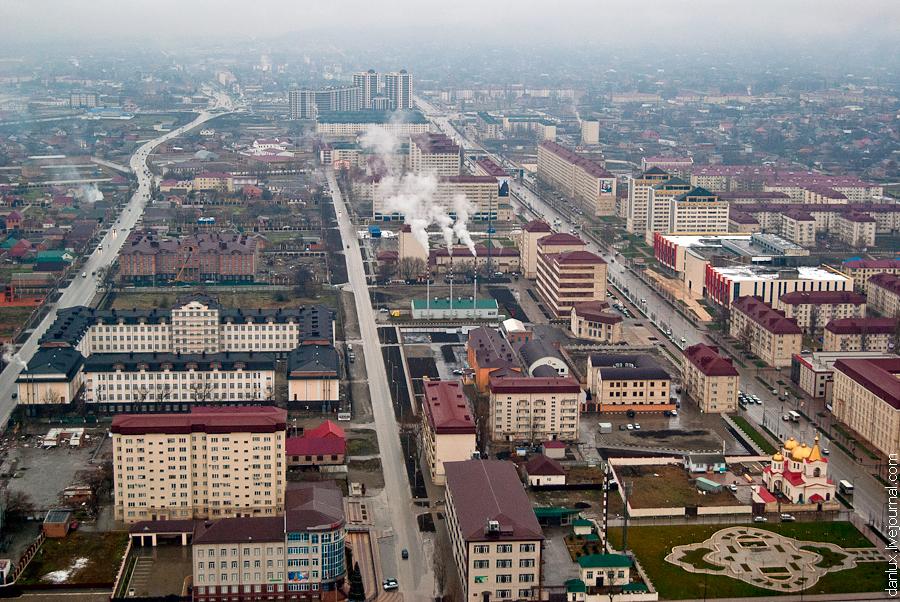 13101 Грозный Сити: Выше крыши