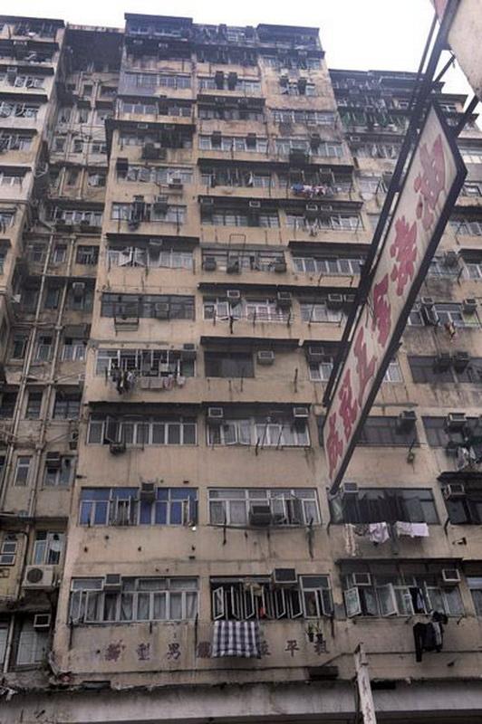 1344 Жизнь в собачьих клетках в Гонконге