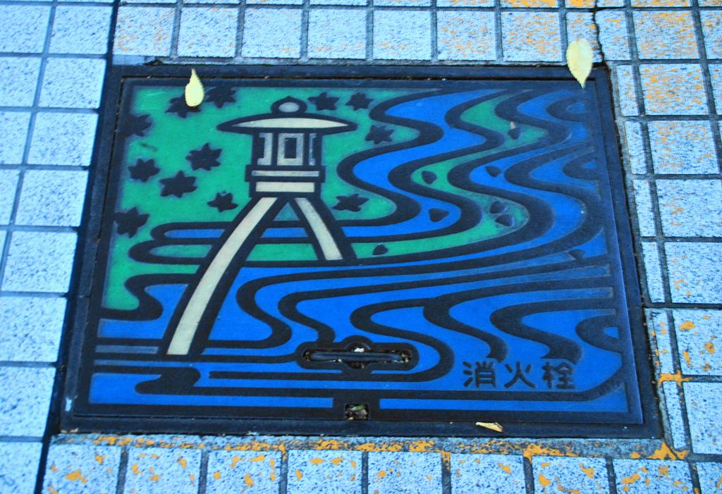 1388 Необычный уличный арт: Канализационные люки из Японии