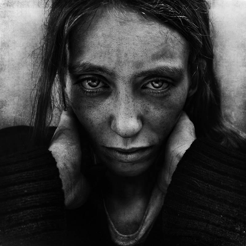 1395 Портреты бездомных от Ли Джеффриса