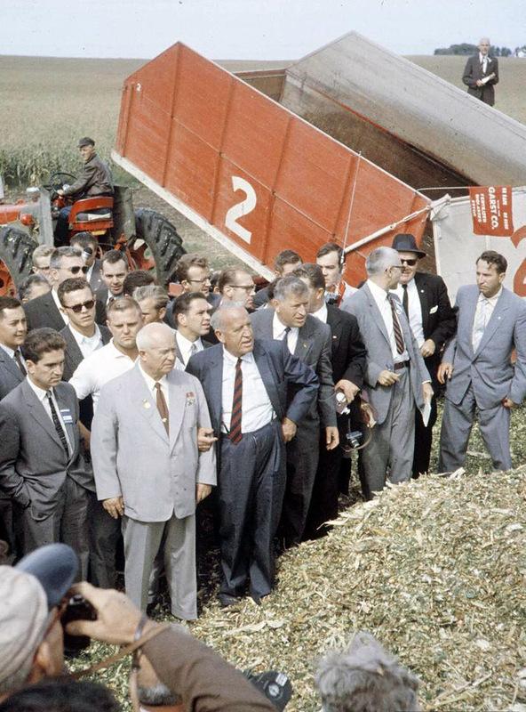1432 Визит Хрущёва в Америку в 1959 году