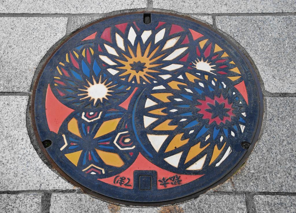 1484 Необычный уличный арт: Канализационные люки из Японии