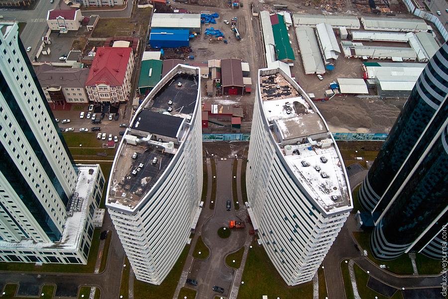 1490 Грозный Сити: Выше крыши